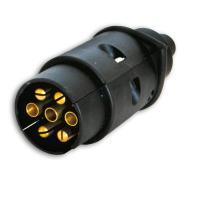 Вилка прицепа электрическая 12V (7конт) пластмасс