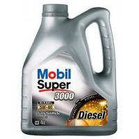 Масло Mobil Super 3000 X1 5W40 (4 л)