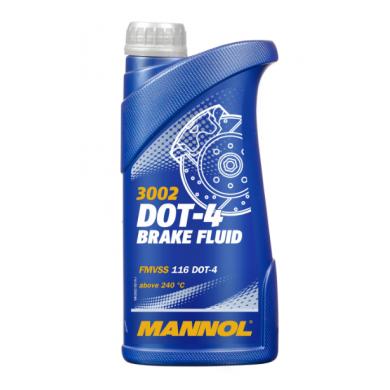 Тормозная жид-ть /  Mannol - DOT-4 (0,45kg)