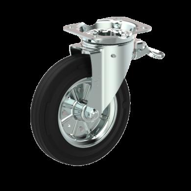 Колесо поворотное Ø200 на 250kg