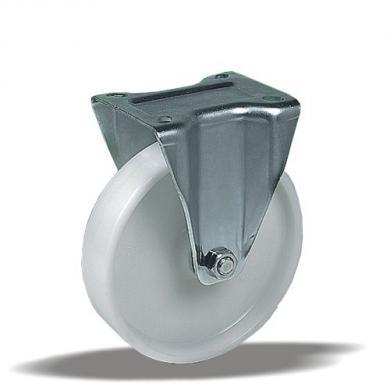Колесо поворотное полиамидное Ø100 на 200kg