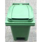Мусорный бак с педалью 80л (зеленый) EU