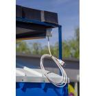 Душевая пластиковая кабина, с подогревом воды 200л