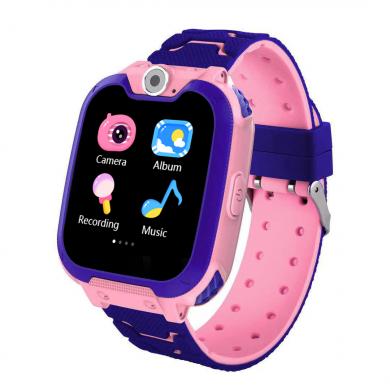 Детские часы SKMEI W23-BU розовый