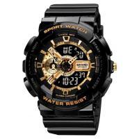 Часы SKMEI 1688BKGD черный/золотистый