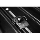 Бокс LUX TAVR 175 черный глянцевый 450L с двустор. откр. (1750х850х400)