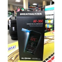 Алкотестер ALCOFIND AF-35 0.00 ~ 5.00 ‰ память 10 тестов ( чехол, мундштуки 6 шт, батарейки)