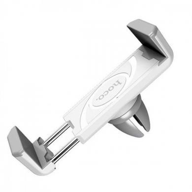 Hoco CPH01 Aвтомобильный держатель телефонa (белый/серый)