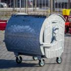 Оцинкованный евроконтейнер объем  1100 л в Молдове