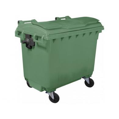 Пластиковый мусорный контейнер объем 660 Литров в Молдове