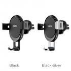 Hoco CA56 Гравитационный держатель портативных устройств с металлической броню (черный)