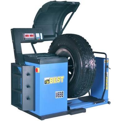 Балансировочный станок BEST TOOLS грузовой (W69B)