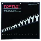 Набор ключей комб.14шт. 8-32мм Hi-Performance GPAX1401 TOPTUL