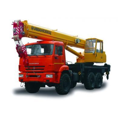 "Автокран KS-45717K-3  ""Ивановец"""
