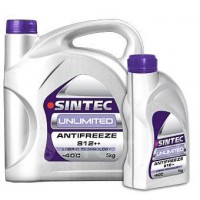 Aнтифриз SINTEC UNLIMITED G12++ -40 (фиолетовый) 1кг