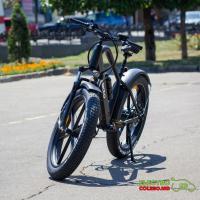 Электрический велосипед NAKTO Direwolf 500 Вт, 48V10ah Литиевая батарея,  кпп-6 26 * 4.0 Fat Tyre B