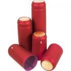 Колпачки термоусадочные Ø31 мм, красные, 100 шт.