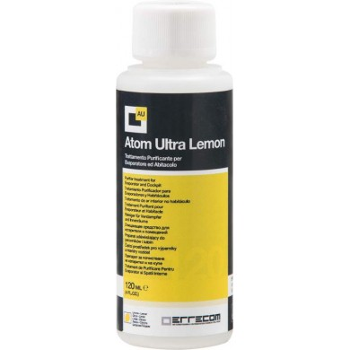 Очищающее средство для устранения неприятных запахов AB0018.G.01. Atom Ultra 120 мл Лимон