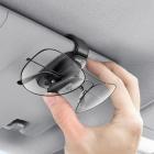 Автомобильный зажим для очков (зажимной тип) Baseus Platinum ACYJN-B01 чёрный