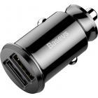 Автомобильная зарядка Baseus Grain CCALL-ML01 чёрная