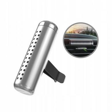 Автомобильный освежитель Baseus Horizontal Chubby SUXUN-PDC0S серебристый