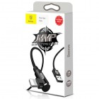 Кабель USB Baseus MVP Elbow Type For IP 1.5A 2M чёрный CALMVP-A01