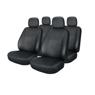 Чехлы для сидений Белорусь -605 Экокожа универсальные (черный)
