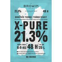 Дрожжи Turbo X-Pure 21,3%  48h , 135g 403103