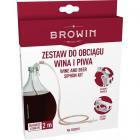 Набор для перелива вина с держателем и зажимом