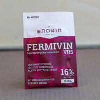 Дрожжи Fermivin VR5  для красного вина 16% , 7 г