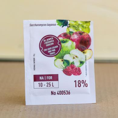 Дрожжи + питательная среда для белых и розовых вин Enovini® BAYA VITA , 17g