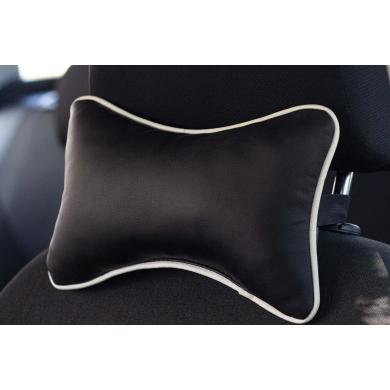 Подушка на подголовник ( экокожа) 26*18см