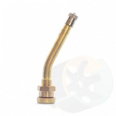Вентиль V3-20-7 груз.изогнутый 27 L=80мм D=9,7мм бронза