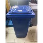 Контейнер для мусора с колесами EU 120 л (blue)