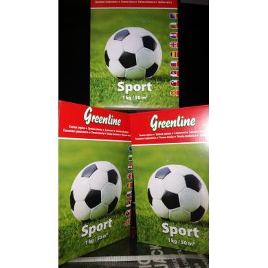 Семена газона Greenline (игра + спорт)  (1 кг)