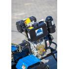 Мотоблок Бизон DTZ585Д 8л.с дизель , ручной стартер + фреза. Ширина культивации - 1160 мм