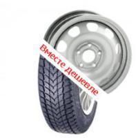 Для Dacia Duster (Диски ВАЗ 6.5J R16 H2 5x114 ET50 d66.1 (duster silver) + Шина 215/65 R 16 KENDA 98H TL KR19 зима)