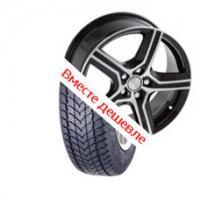 Для Dacia Duster (Диск 16 5х114,3 6.5J d=67.1 ET51/ DRIVE, алмаз, 1210905 + Шины 215/65 R 16 KENDA 98H TL KR19)