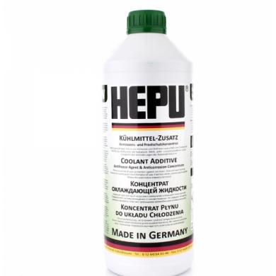 Антифриз HEPU G11-80 °C (зеленый концентрат) 1,5 лт