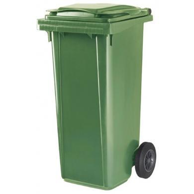 Контейнер для мусора с колёсами 120л ESE Германия (зеленые)