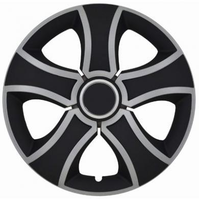 Колпаки R 15 Bis Ring Black-Siliver ( Mix )