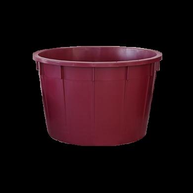Кадка для вина 225 L красная