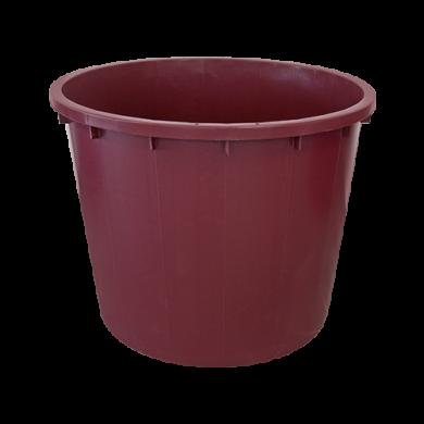 Кадка пластиковая  500лт красная Италия