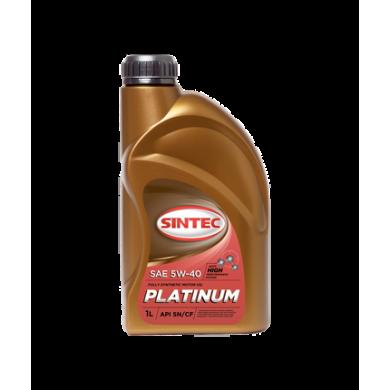 Масло Sintec Platinum  5W40 синт. 1L Моторное масло
