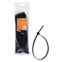 Хомуты пластиковые 3,60х300мм  черные комплект (100шт)