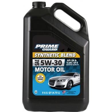 Масло Prime Guard Syntetic Blend 5W30 4,73L Моторное масло