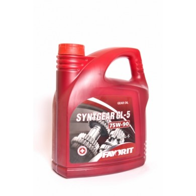 Масло Favorit Syntgear 75W-90 GL-5 (4L) Трансмиссионные масла