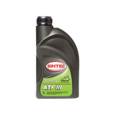 Масло Sintoil ATF Dexron III 1L Трансмиссионное масло