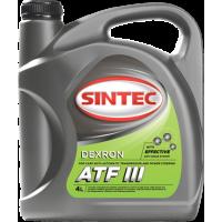 Масло Sintoil ATF Dexron III 4L Трансмиссионное масло