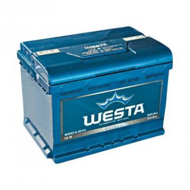 Аккумулятор 60AH 12V Westa St (+слева)
